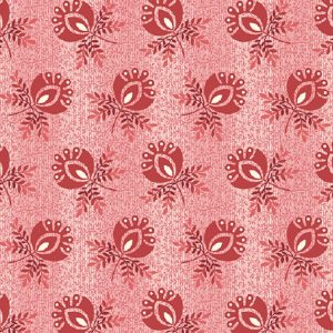 Tissu Andover A 9579 R rouge lemillepatch