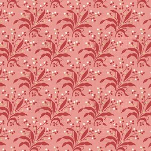 Tissu Andover A 9580 R rouge lemillepatch