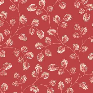 Tissu Andover A 9581 R rouge lemillepatch