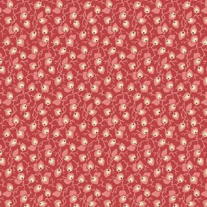 Tissu Andover A 9582 R rouge lemillepatch