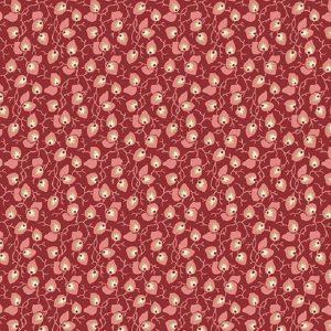 Tissu Andover A 9582 R1 bordeaux lemillepatch