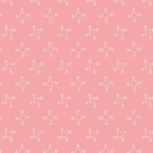 Tissu Andover A 9589 E rose lemillepatch