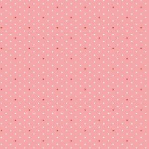 Tissu Andover A 9594 E rose lemillepatch