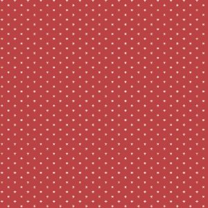 Tissu Andover A 9594 R rouge lemillepatch