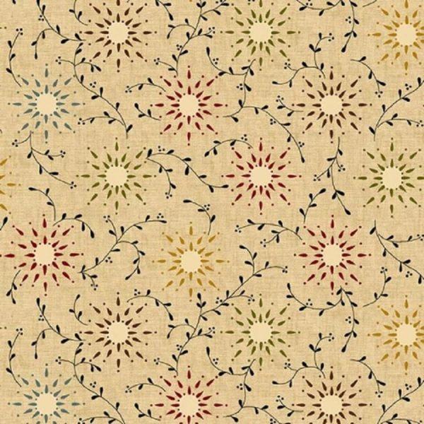 Tissu Henry Glass 6235 44 beige lemillepatch