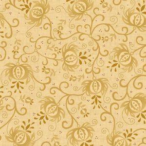 Tissu Henry Glass 6631 44 beige lemillepatch