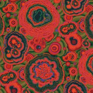 Tissu Free Spirit 106 rouge lemillepatch