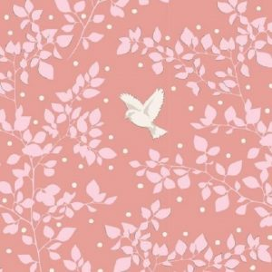 Tissu Tilda 100265 rose lemillepatch