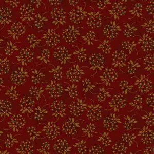 Tissu Henry Glass 1904 88 rouge lemillepatch