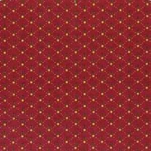 Tissu Henry Glass 1925 88 rouge lemillepatch
