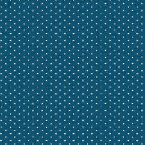 Tissu Andover A 9594 B bleu lemillepatch