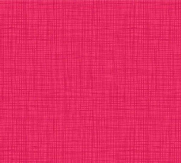 Tissu Makower 1525-P6 rose lemillepatch