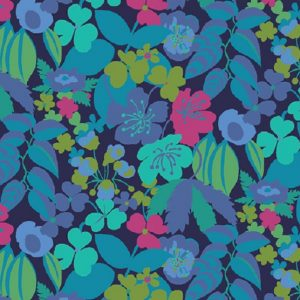 Tissu Windham 51931-1 bleu lemillepatch