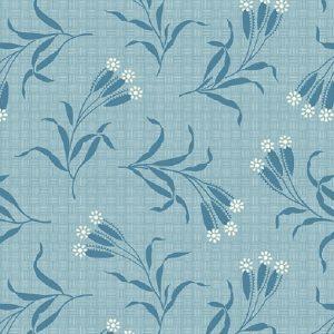 Tissu Andover A 9583 B bleu lemillepatch