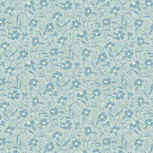 Tissu Andover A 9584 B bleu lemillepatch