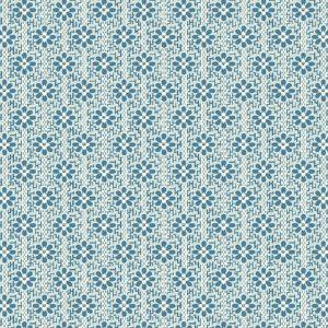 Tissu Andover A 9588 B bleu lemillepatch