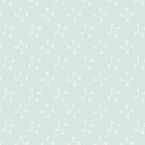 Tissu Andover A 9589 BL bleu lemillepatch
