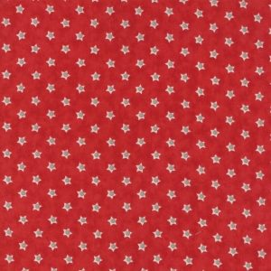Tissu Moda 14867 13 rouge lemillepatch