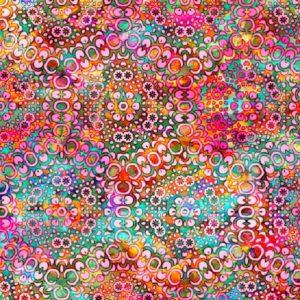 Tissu QT Fabrics 27100 P rose lemillepatch