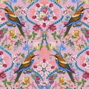 Tissu Free Spirit 034 rose lemillepatch