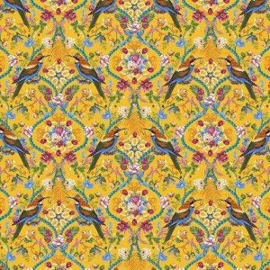 Tissu Free Spirit 035 jaune lemillepatch