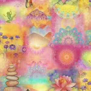 Tissu Clothworks Y 3116-55 lemillepatch