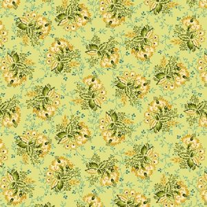 Tissu Henry Glass 2600-66 vert lemillepatch