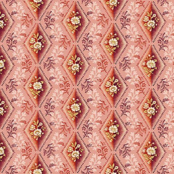 Tissu Henry Glass 2601-22 rose lemillepatch