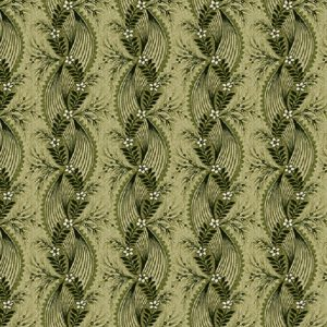 Tissu Henry Glass 2602-66 vert lemillepatch