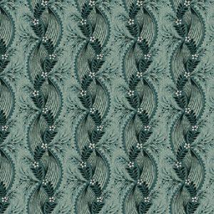 Tissu Henry Glass 2602-76 bleu lemillepatch