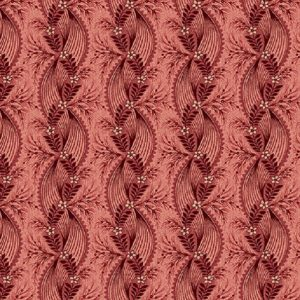 Tissu Henry Glass 2602-88 bordeaux lemillepatch