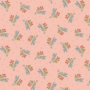 Tissu Henry Glass 2604-22 rose lemillepatch