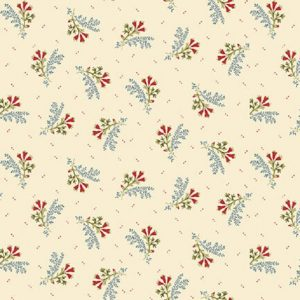 Tissu Henry Glass 2604-33 blanc lemillepatch