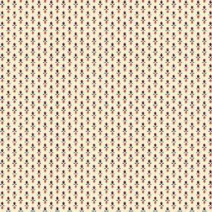 Tissu Henry Glass 2605-38 écru lemillepatch