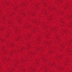 Tissu Stof 4501-443 rouge lemillepatch