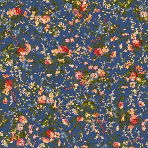 Tissu Maywood 9871-N bleu lemillepatch