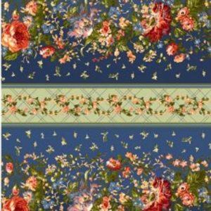 Tissu Maywood 9873-N bleu lemillepatch