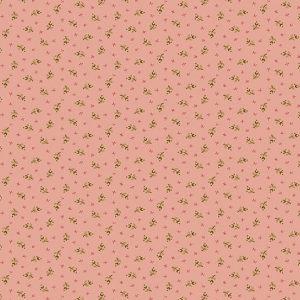 Tissu Andover 9713 EN rose lemillepatch