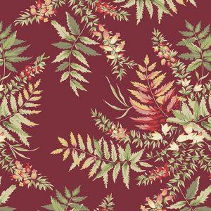 Tissu Andover 9768 R bordeaux lemillepatch