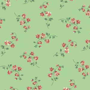 Tissu Andover 9769 G vert lemillepatch