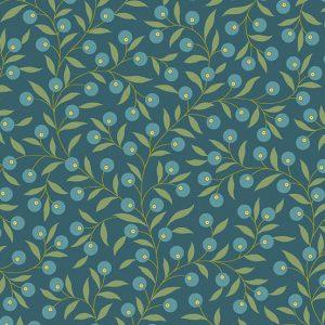 Tissu Andover 9771 B bleu lemillepatch