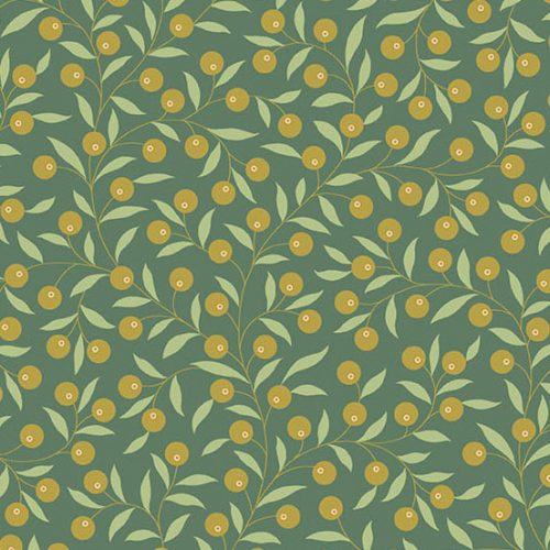 Tissu Andover 9771 G vert lemillepatch