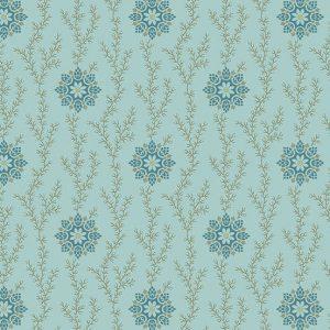 Tissu Andover 9772 B bleu lemillepatch