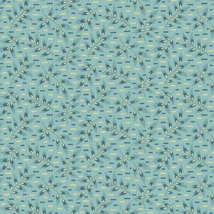 Tissu Andover 9773 B bleu lemillepatch
