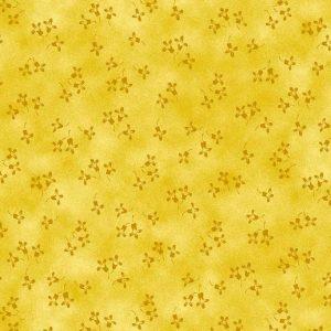 Tissu Stof 4515-208 jaune lemillepatch