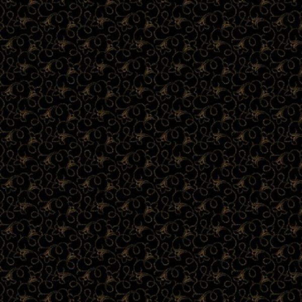 Tissu Andover 9731 K noir lemillepatch
