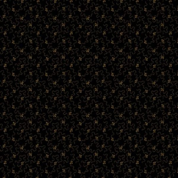 Tissu Andover 9735 K noir lemillepatch