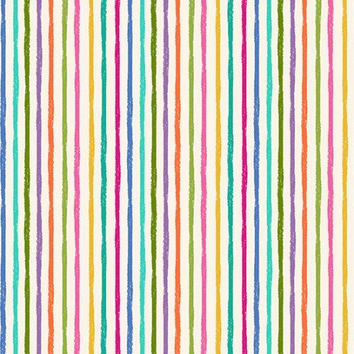 Tissu Makower 2347-Q blanc lemillepatch