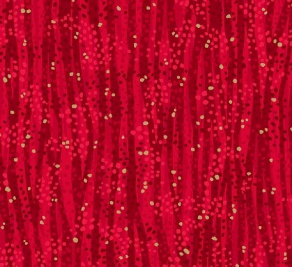 Tissu Windham 52495M-2 rouge lemillepatch