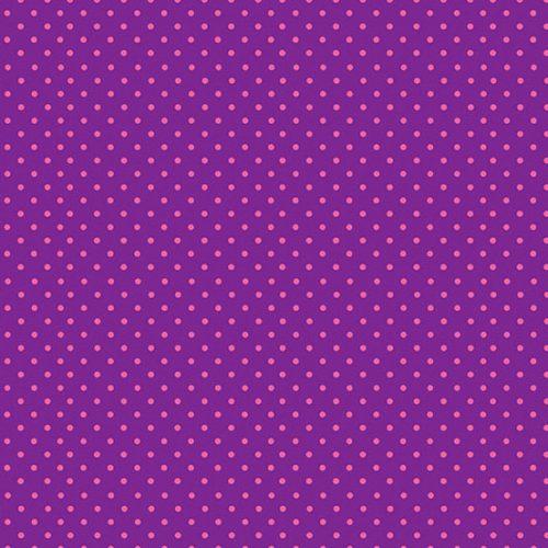 Tissu Makower 830-LP violet lemillepatch
